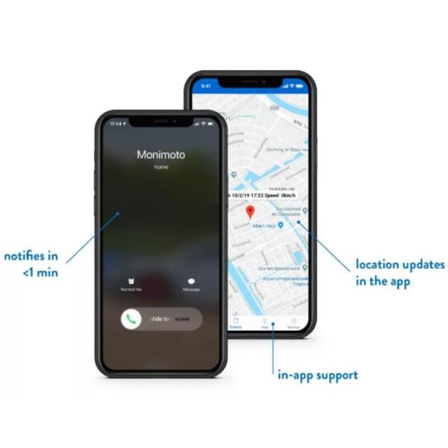 MONIMOTO MOTORCYCLE GPS-GSM TRACKER MM6 (APP)
