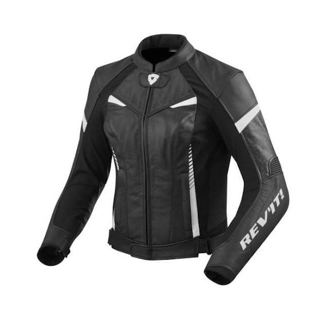 REV'IT JACKET XENA 2 LADIES - BLACK WHITE