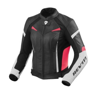 REV'IT JACKET XENA 2 LADIES - WHITE FUCHSIA
