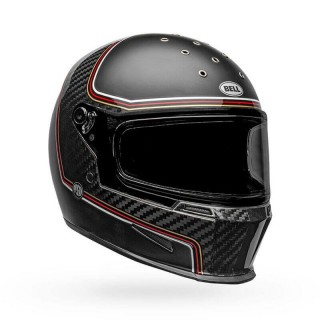 CASCO INTEGRALE BELL ELIMINATOR CARBON RSD THE CHARGE