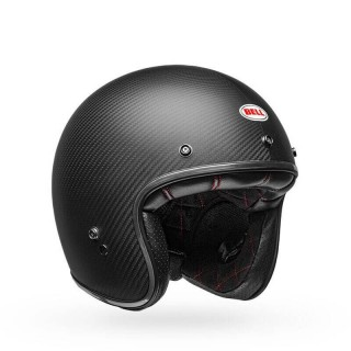BELL CUSTOM 500 CARBON OPEN FACE HELMET