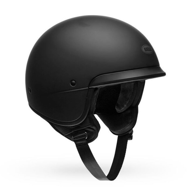 BELL SCOUT AIR OPEN FACE HELMET MATT BLACK
