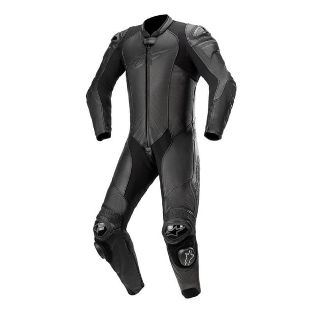 ALPINESTARS GP PLUS V3 GRAPHITE LEATHER SUIT