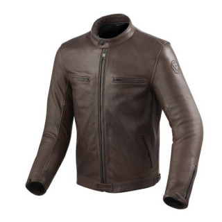 REV'IT JACKET GIBSON - BROWN