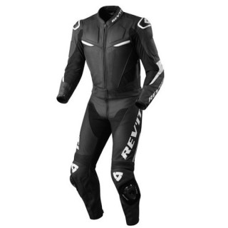 REV'IT COMBI SUIT MASARU - BLACK WHITE
