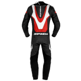 SPIDI LASER PRO PERFORATED LEATHER SUIT - RED (BACK)