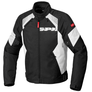 SPIDI FLASH EVO TEX JACKET - BLACK WHITE