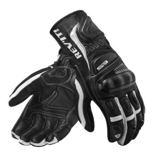 REV'IT STELLAR 2 GLOVES - BLACK WHITE