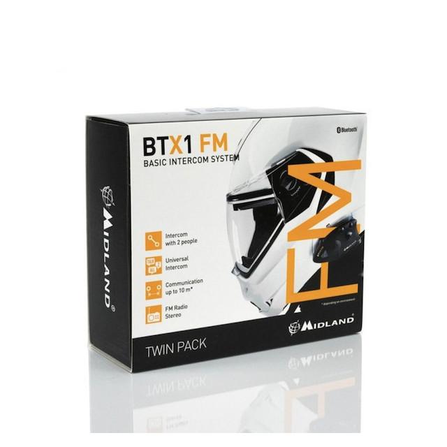 MIDLAND BTX1 TWIN PACK FM
