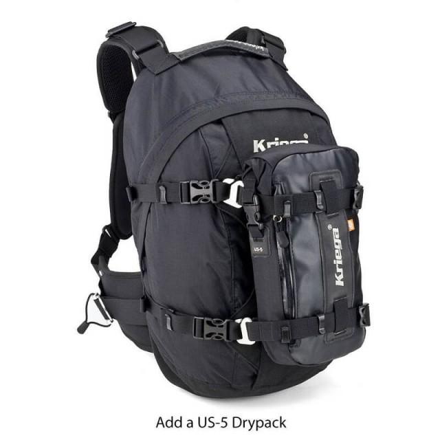 KRIEGA R25 BACKPACK - US-5 DRYPACK