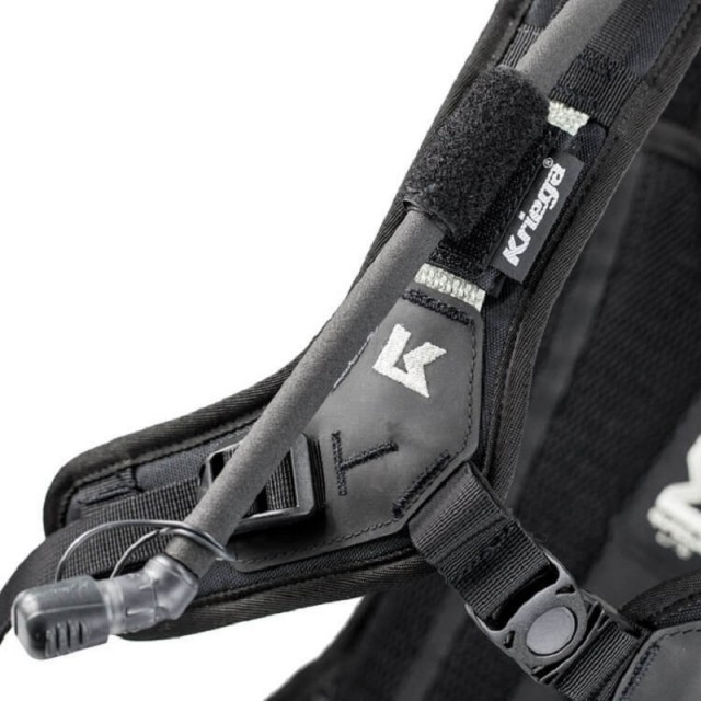 KRIEGA HYDRO-3 BACKPACK - HYDRATION TUBE