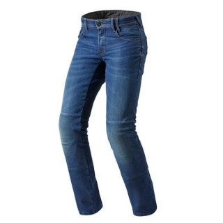 REV'IT JEANS AUSTIN TF - MEDIUM BLUE SHORT