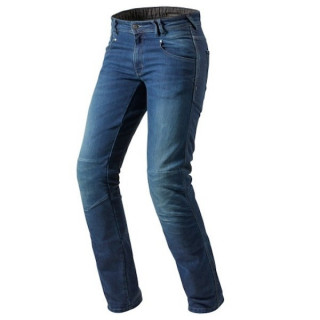 REV'IT JEANS CORONA TF - MEDIUM BLUE LONG