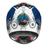NOLAN N64 GEMINI REPLICA BASTIANINI METAL WHITE - BACK