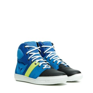 DAINESE YORK AIR SHOES - BLUE FLUO YELLOW