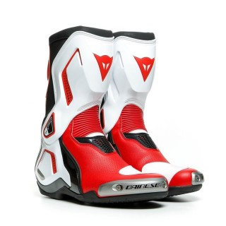 DAINESE TORQUE 3 OUT AIR BOOTS - BLACK WHITE FLUO RED