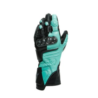 DAINESE CARBON 3 LADY GLOVES - BLACK ACQUA-GREEN ANTHRACITE