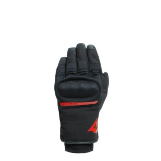 DAINESE AVILA UNISEX D-DRY GLOVES  -BLACK RED
