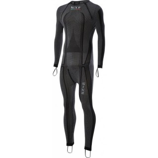SIX2 CARBON RACING UNDERSUIT - STX R - BLACK CARBON