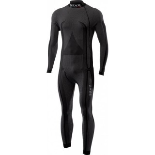 SIX2 CARBON MOCK TURTLENECK UNDERSUIT - STX HIGH NECK