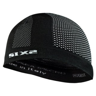 SIX2 SKULL CAP - SCX - BLACK CARBON