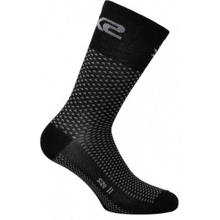 SIX2 SHORT SOCKS - SHORT LOGO - CARBON BLACK