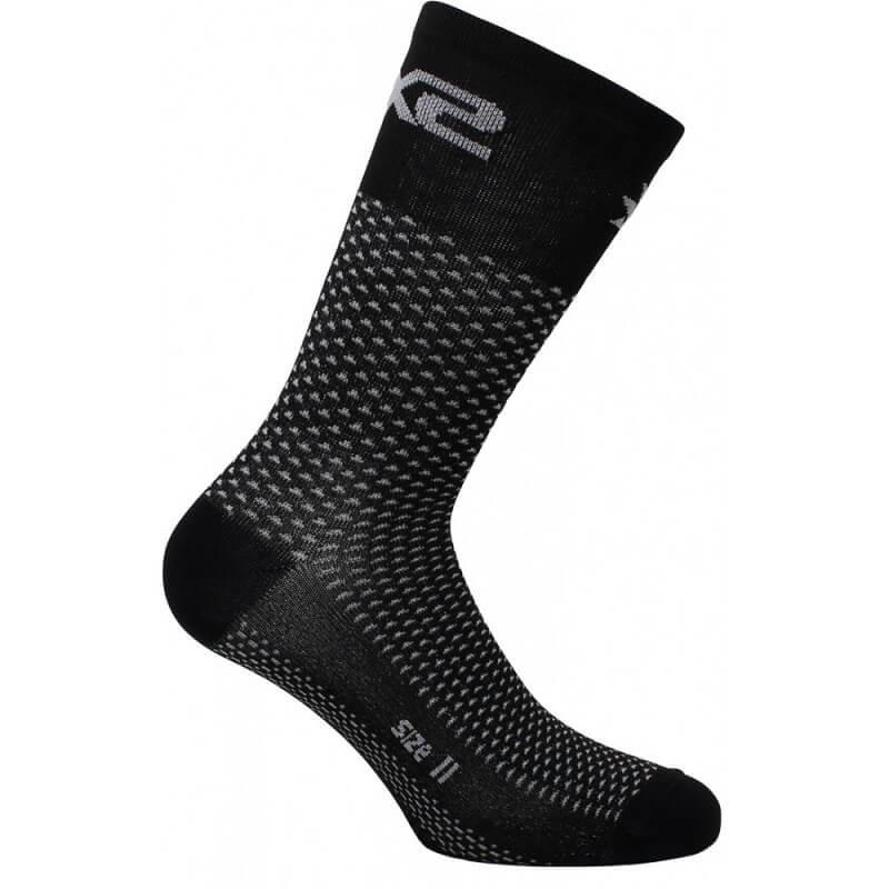 SIX2 SHORT SOCKS - SHORT LOGO - CARBON BLACK