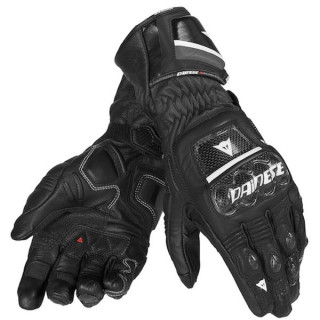 DAINESE DRUIDS ST LEATHER GLOVE NERO BIANCO