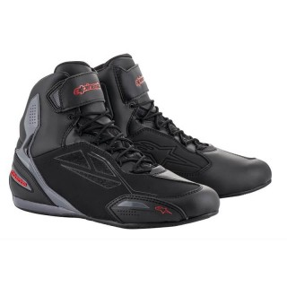 SCARPE ALPINESTARS FASTER-3 DRYSTAR - BLACK GRAY RED