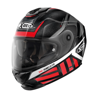 CASCO X-LITE X-903 ULTRA CARBON CHEYENNE N-COM - CARBON RED