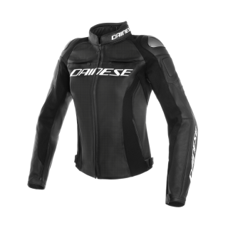 GIACCA DAINESE RACING 3 LADY PERFORATED LEATHER