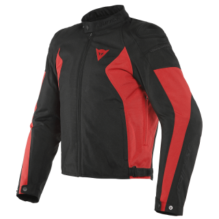 GIACCA DAINESE MISTICA TEX - BLACK FLUO-RED
