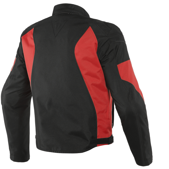 DAINESE MISTICA TEX - BLACK LAVA-RED - BACK