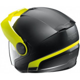 NOLAN N40 DUETTO BLACK FLUO - BACKSIDE
