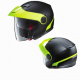 NOLAN N40 DUETTO BLACK FLUO - FRONT & BACK