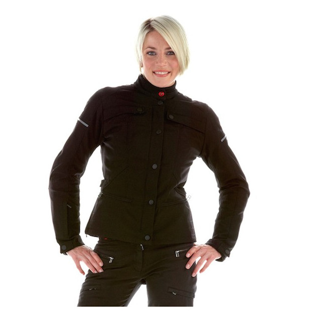 DAINESE GAMBLER TEX LADY BLACK