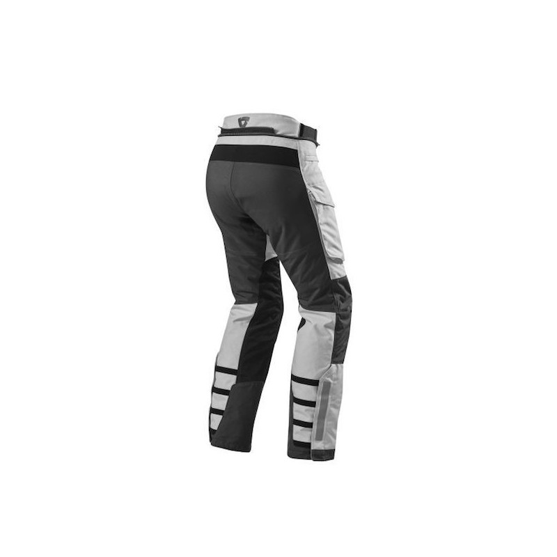 REV'IT TROUSERS SAND 3 SILVER ANTHRACITE - BACK