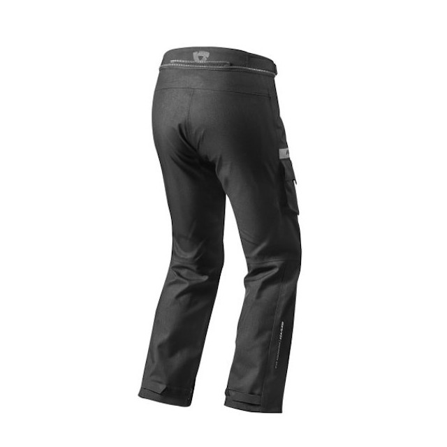 REV'IT TROUSERS COMMUTER BLACK - BACK