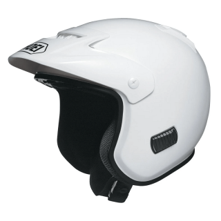 SHOEI TR-3 WHITE TRIAL HELMET