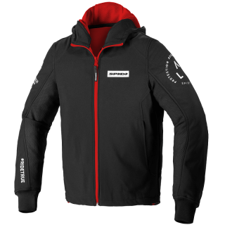 SPIDI HOODIE ARMOR EVO TEX JACKET - RED