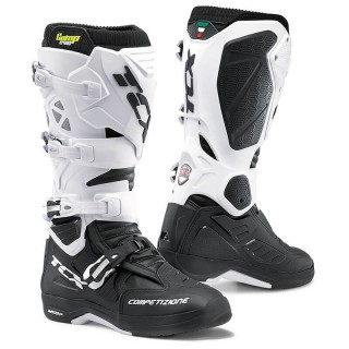 TCX COMP EVO 2 MICHELIN BOOTS - BLACK WHITE