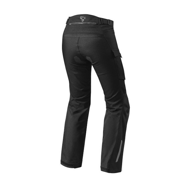 REV'IT PANTALONI ENTERPRISE 2 DONNA BLACK - RETRO
