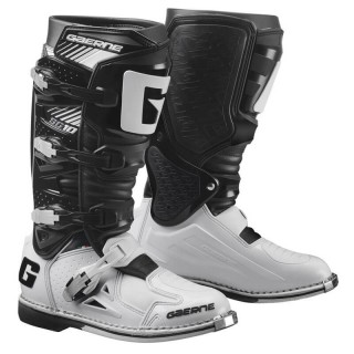 GAERNE SG 10 OFF-ROAD BOOTS - WHITE BLACK