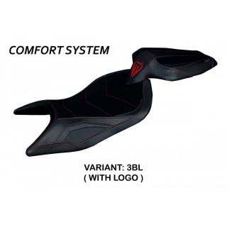 TAPPEZZERIA ITALIA SEAT COVER NAXOS COMFORT APRILIA RS 660 - BLACK