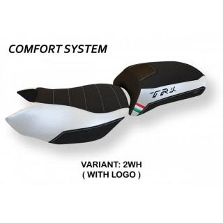 TAPPEZZERIA ITALIA SEAT COVER NOLA COMFORT BENELLI TRK 502 - WHITE