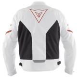 DAINESE RACING TEX BIANCO ROSSO - RETRO