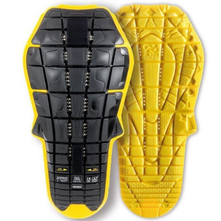 SPIDI BACK WARRIOR EVO INSIDE BACK PROTECTOR - BLACK YELLOW