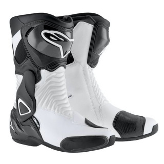 ALPINESTARS S-MX 6 - WHITE BLACK