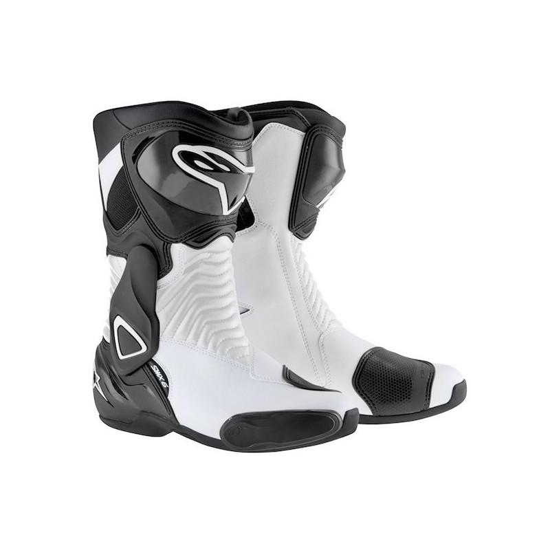 ALPINESTARS S-MX 6 - WHITE BLACK