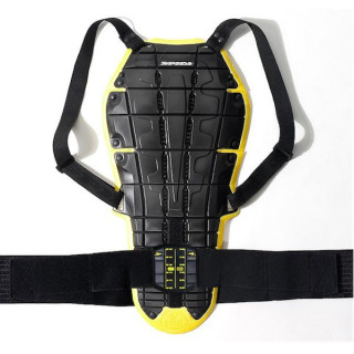 PARASCHIENA SPIDI BACK WARRIOR EVO - NERO GIALLO
